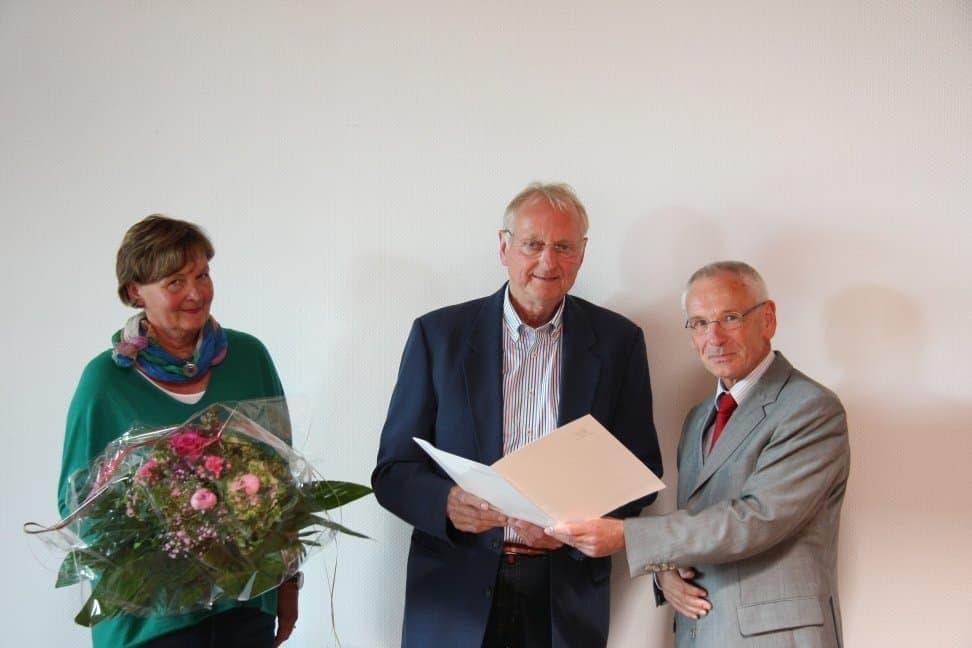 Verabschiedung von Oberstudienrat Eberhard Thun