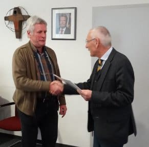 Verabschiedung von Oberstudienrat Johannes-Rainer Stolle