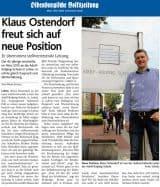 Klaus Ostendorf ist der neue stellvertretende Leiter der Adolf-Kolping-Schule in Lohne