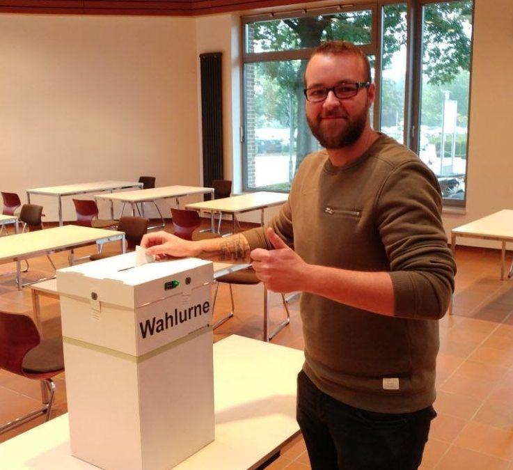 Juniorwahl 2017 an der AKS Lohne / Wahlergebnis im Link unterm Text