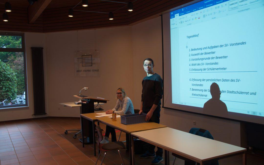 Matthias Radtke ist neuer Schülersprecher der AKS