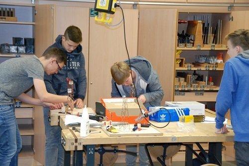 Berufsorientierter Unterricht: Kooperation mit Ludgerus-Schule