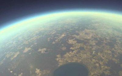 """BGT-Projekt """"Wetterballon"""": Ein Klassenzimmer am Rande des Weltalls"""