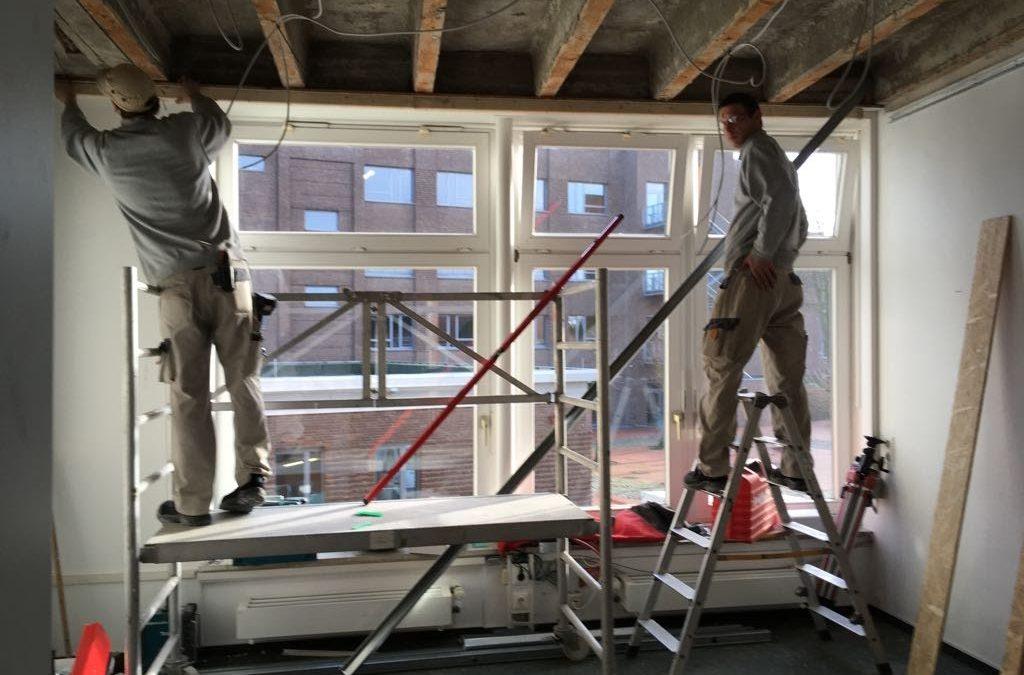 Umbaumaßnahmen an der AKS – Lehrerzimmer und Ruheraum