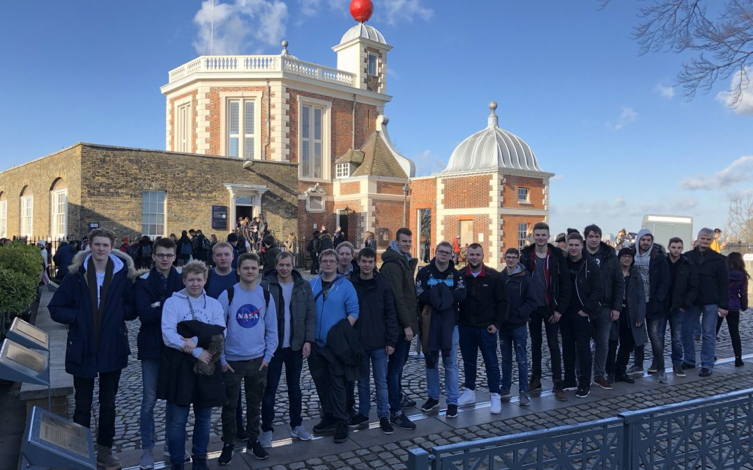 London 2018: Studienfahrt der Klasse FOT12A