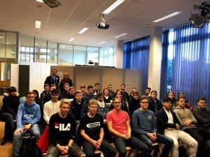 Auftaktveranstaltung für den JG 11 mit OV-Redakteur Carsten Boning