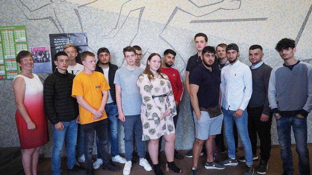 Entlassungsfeier der BVJ-Klassen 2019