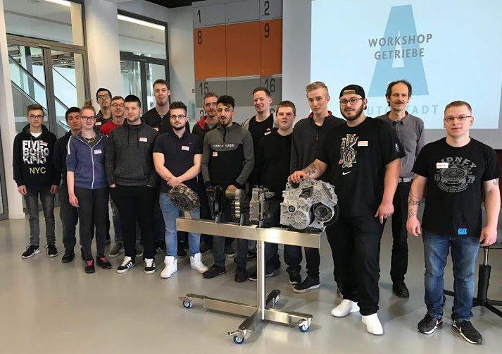 MKM3B1 absolviert Getriebe-Workshop in der Autostadt