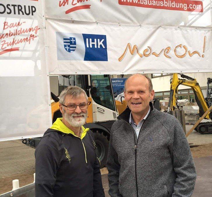 """Gerd Honkomp und Andreas Landwehr vertreten AKS beim 17. IHK Ausbildungslauf """"Move on"""""""