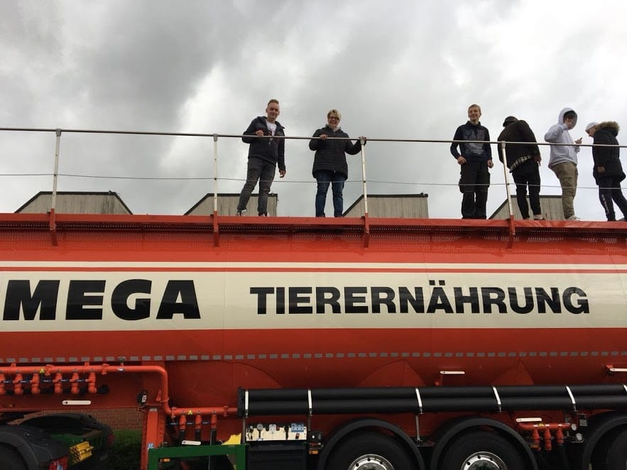 Showtruck der Firma Mega