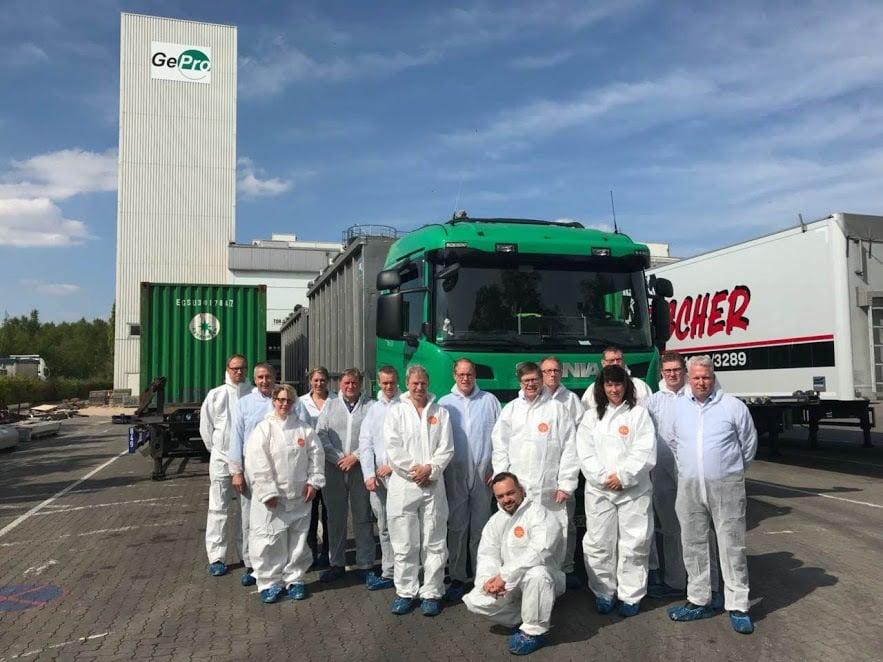 Dialog vor Ort: Arbeitskreissitzung der Berufskraftfahrer bei der Firma GePro