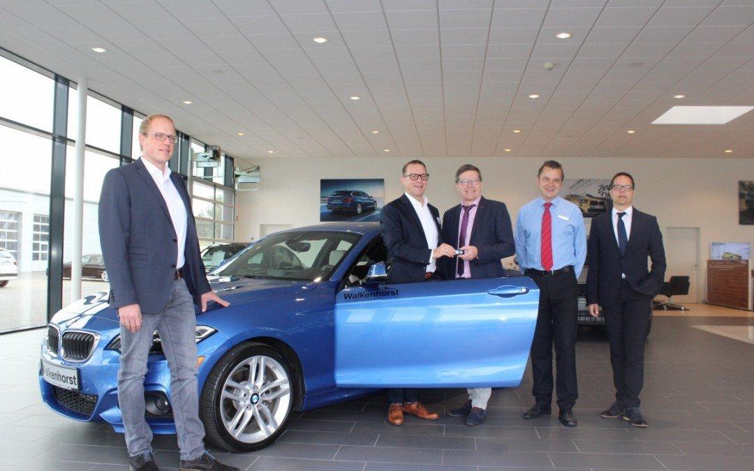 KfZ-Abteilung erhält 2er Coupé als Schulungsfahrzeug von BMW-Walkenhorst-Gruppe