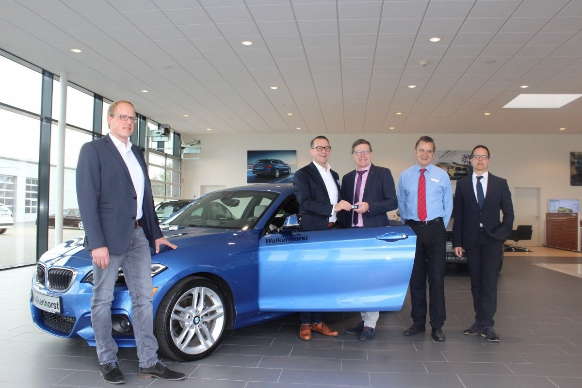 BMW Übergabe