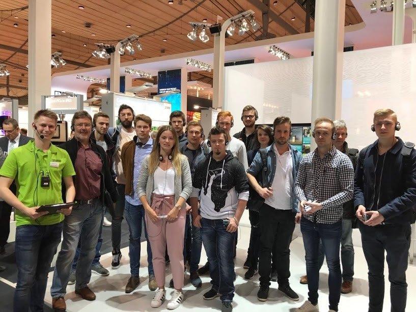 Technikerklasse besucht Hannover Messe 2018
