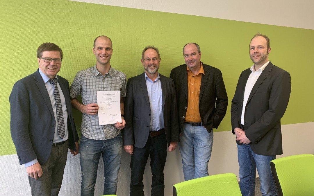 Nie wieder Prüfungen: Franz Bokop meistert Referendariat