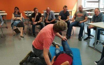 Lernende Lehrer – Erste Hilfe Kurs 2018