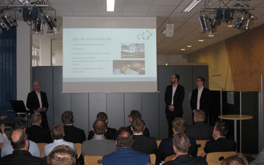 Projektpräsentationen: FSMe 2 erntet Lorbeeren für wochenlange Arbeit