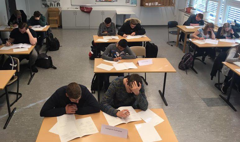 Erst probieren, dann studieren: Zwölftklässler unterziehen sich Studientest