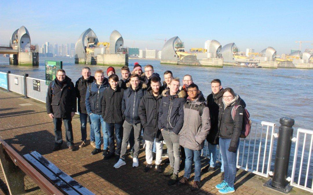 Studienfahrt 2019: Fachoberschule Technik besucht London