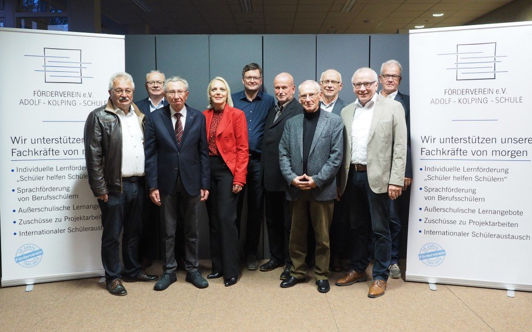 Der Förderverein der AKS feiert 30-jähriges Jubiläum