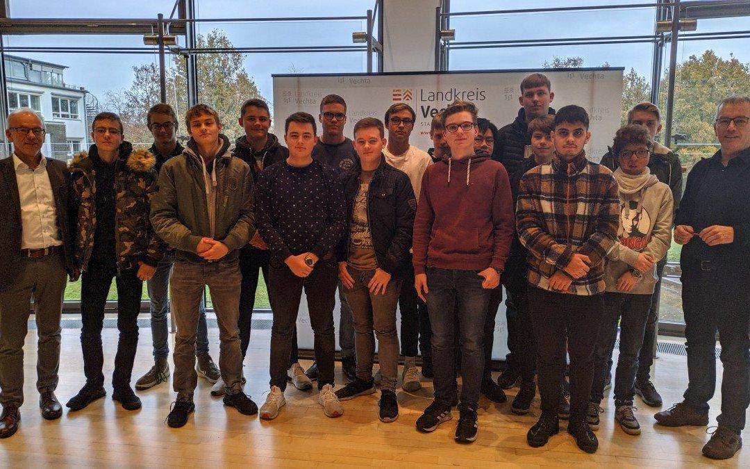 Klasse 11B des Beruflichen Gymnasiums Technik nimmt an Schülerwerkstatt Zukunft teil