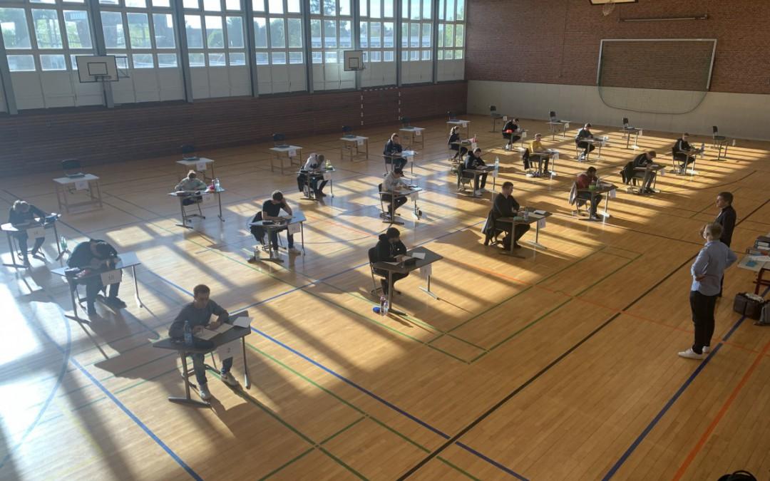 Abitur 2020: Turnhalle statt Klassenzimmer