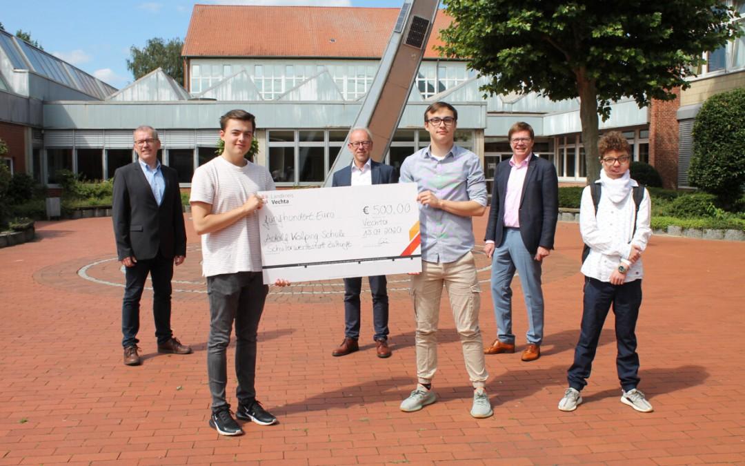 """500 Euro für die Klassenkasse: BGT 11B einer der Finalisten des Projekts """"Schülerwerkstatt Zukunft"""""""
