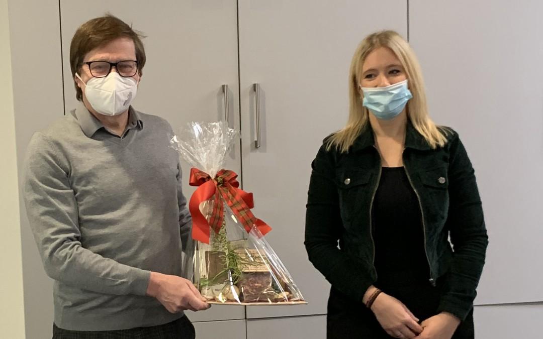 AKS-Schulleiter Martin kleine Bornhorst feiert 60. Geburtstag