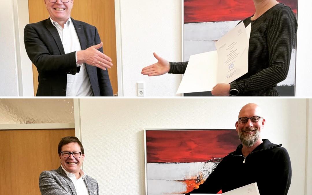 Jubilare Sabine Witte-Paulsen und Christian Meyer-Abich geben Einblick in ihre 25-jährige Schullaufbahn