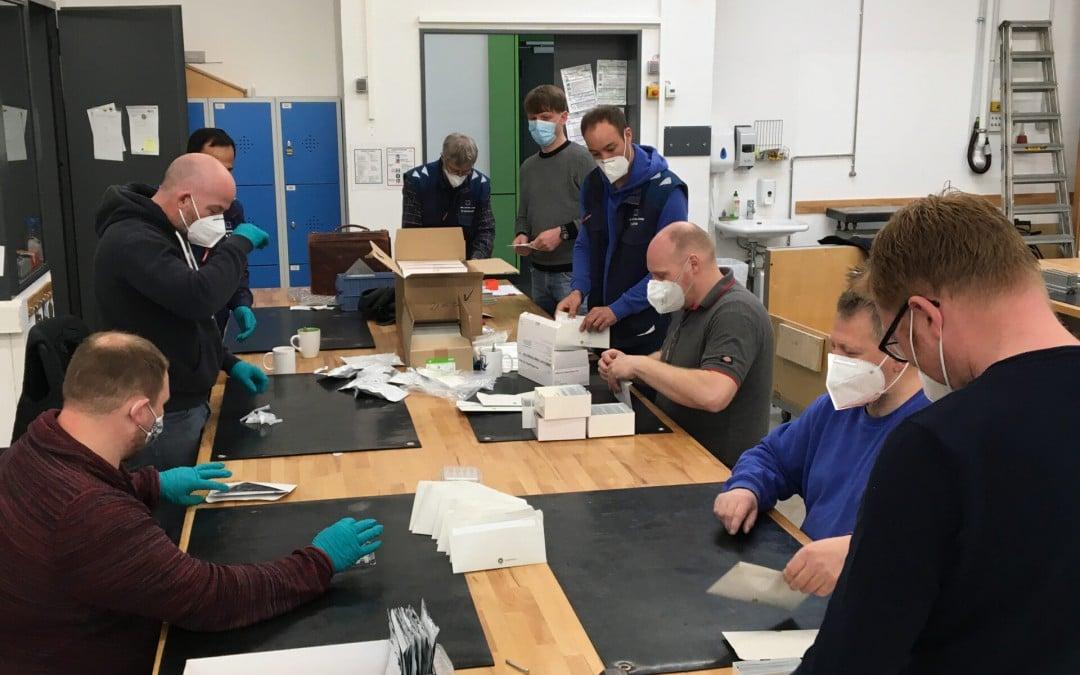 AKS Fachpraxis-Lehrkräfte helfen bei Testkit-Bestellpanne aus der Patsche
