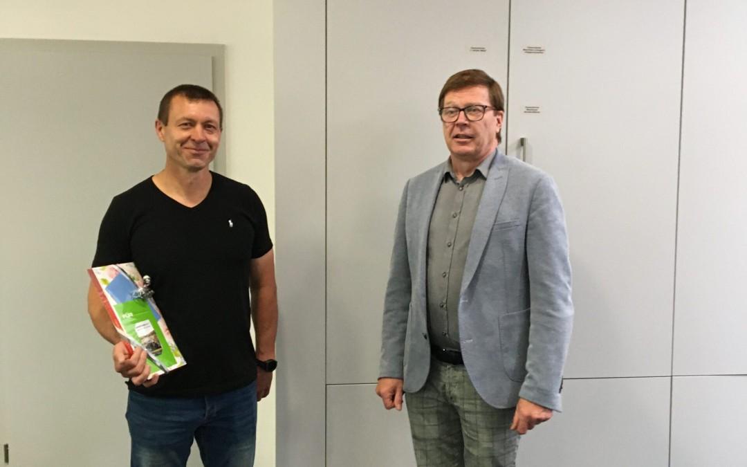 Hausmeistergehilfe Alexander Gluschko verlässt AKS
